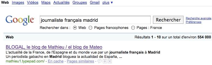 Googlejournaliste